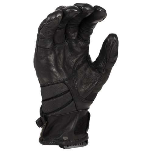 Klim Adventure GTX Short Glove Black Back