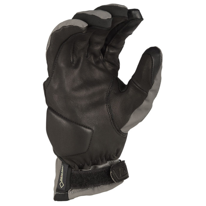 Klim Vanguard GTX Short Glove Grey Palm