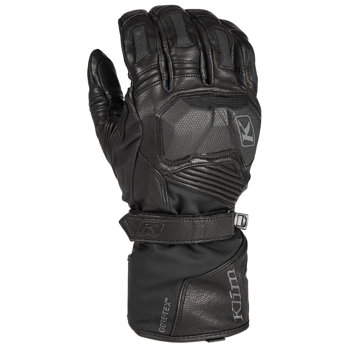 Klim Badlands GTX Long Black Gloves