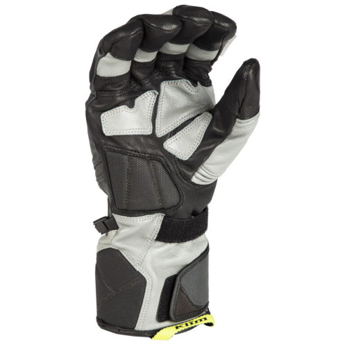 Klim Badlands GTX Long Grey Gloves