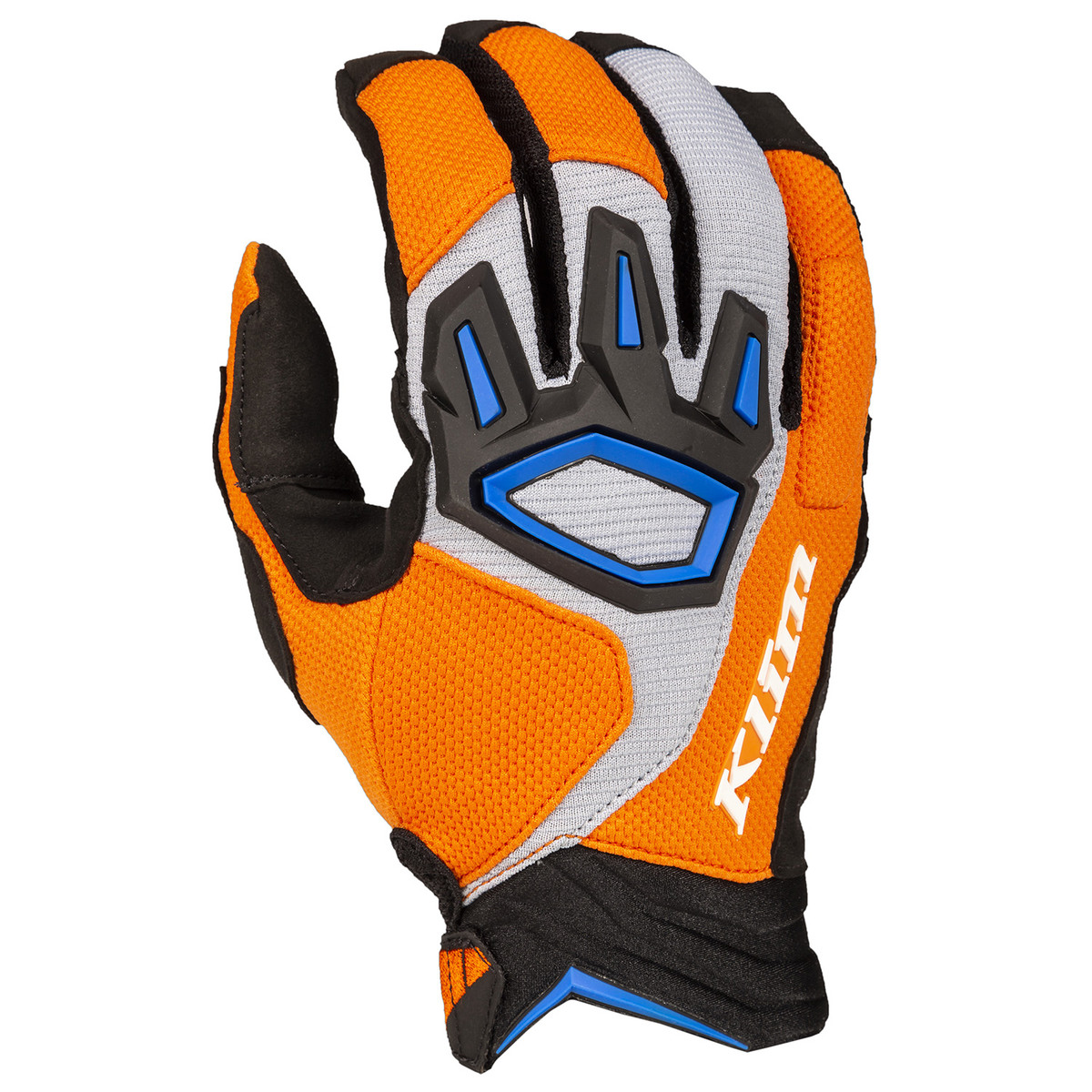 Klim Dakar Glove Orange Blue
