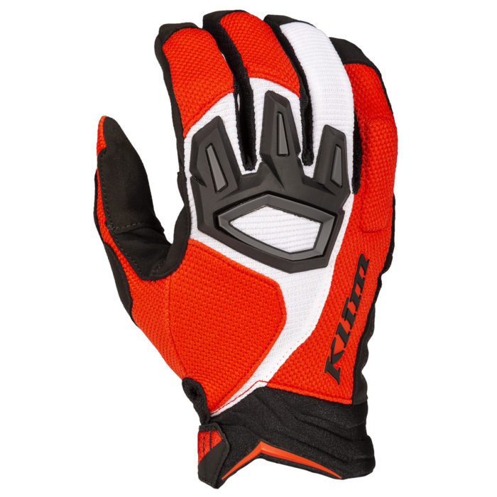 Klim Dakar Glove Red