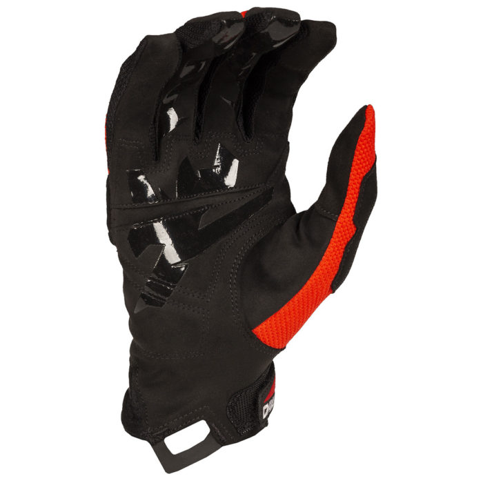 Klim Dakar Glove Red Palm