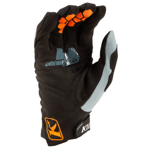 Dakar Glove Striking Petrol Back