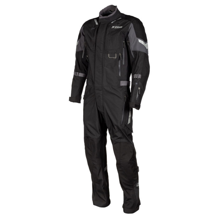 Klim Hardanger One-Piece Suit Black Front Side