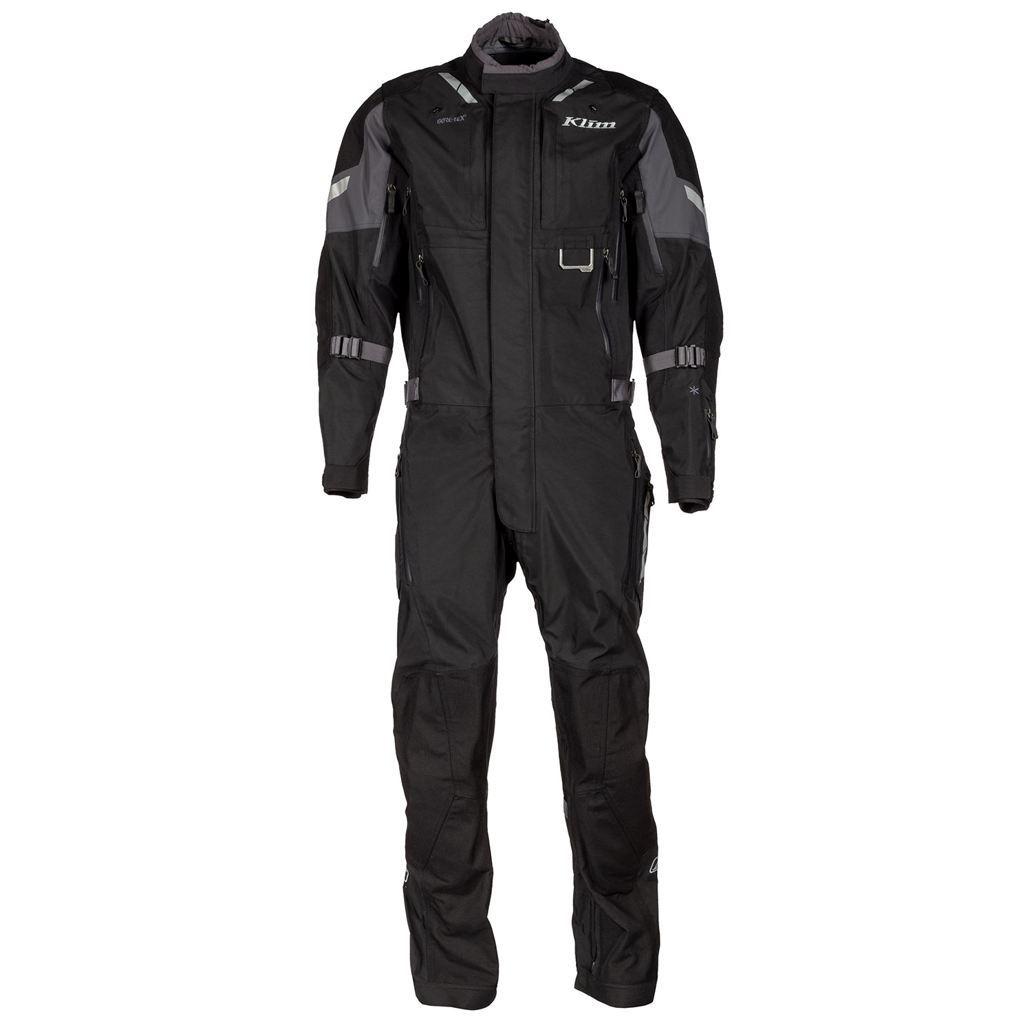Klim Hardanger One-Piece Suit Black Front