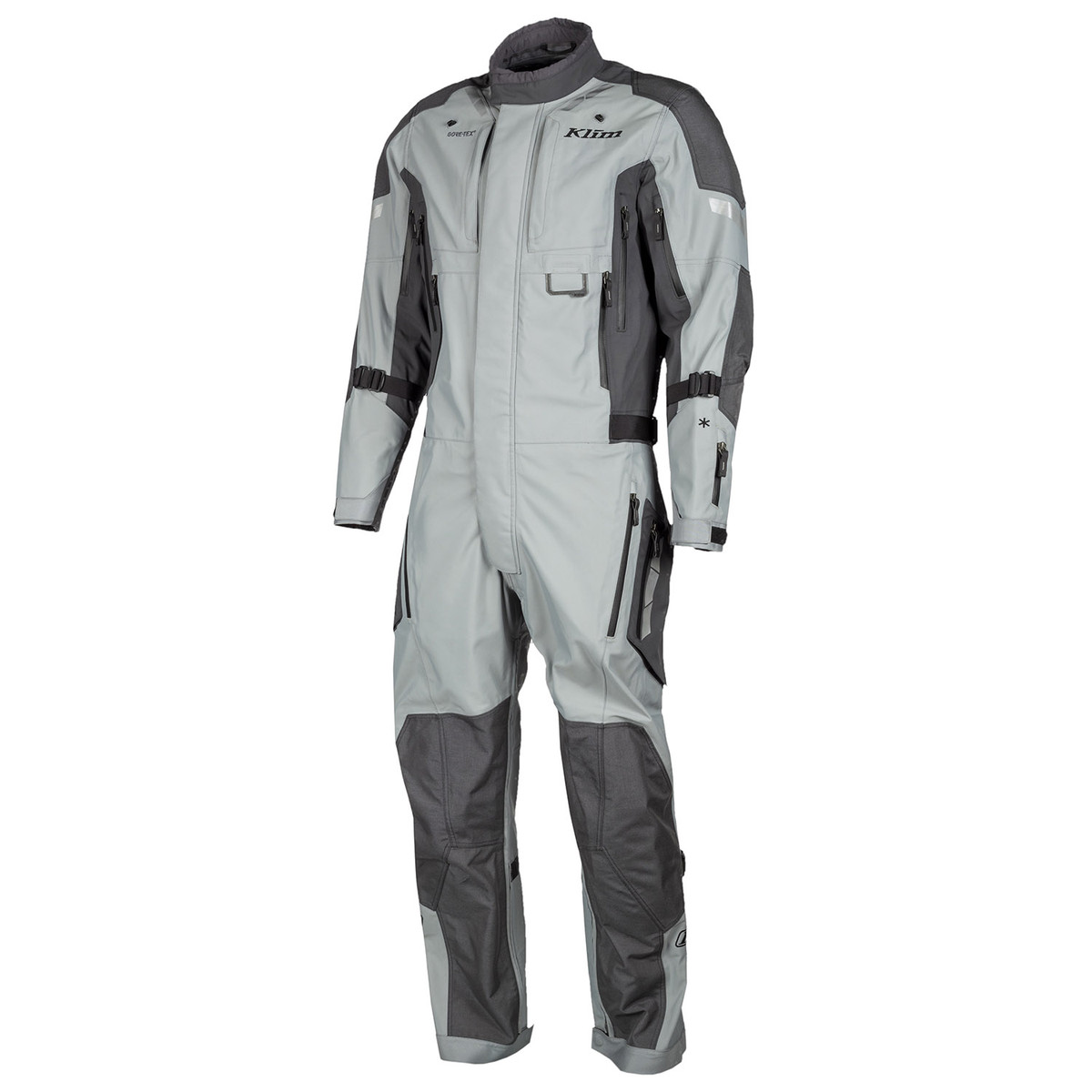 Klim Hardanger One-Piece Suit Grey Front