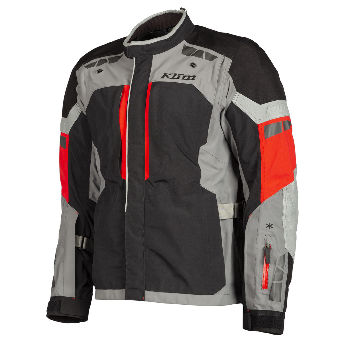 Klim Latitude Jacket Red Front Side