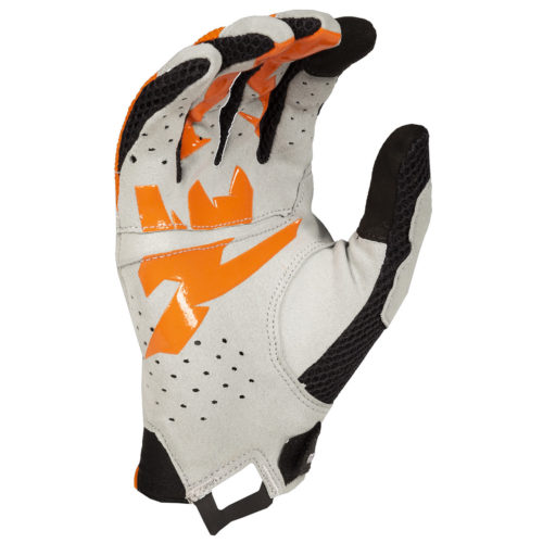 Klim Mojave Glove Orange-Grey Palm
