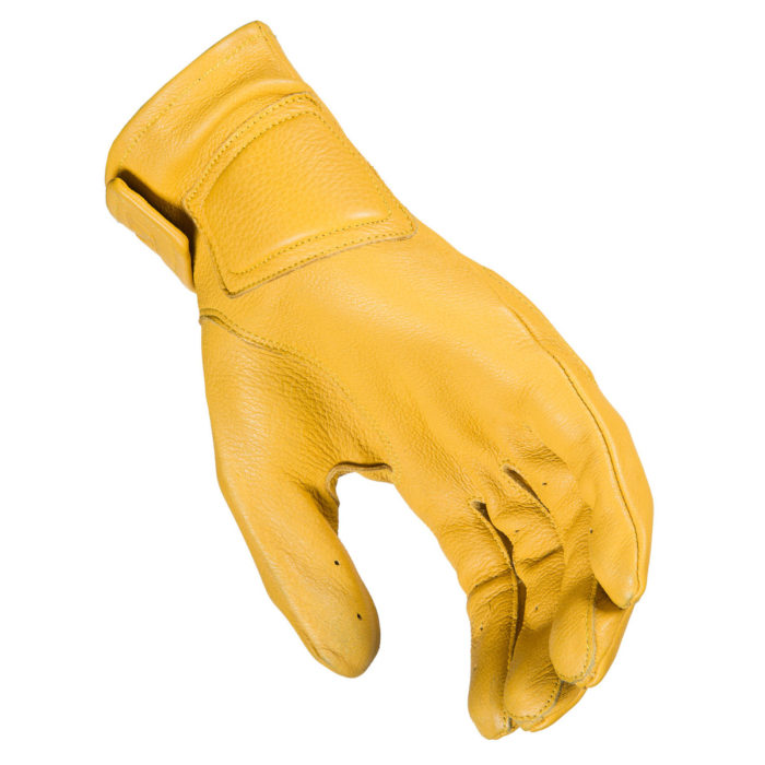Klim Rambler Glove Yellow Back