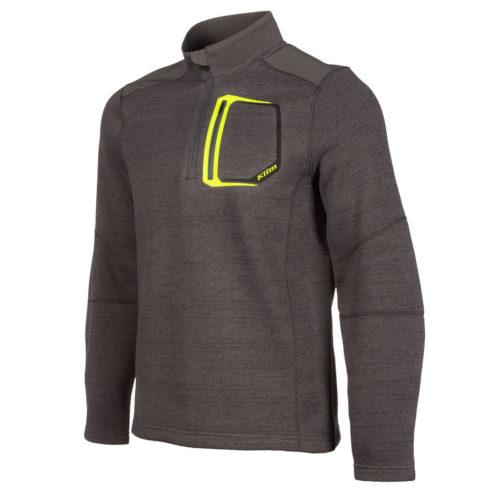 Klim Yukon Sweater Asphalt Hi Viz