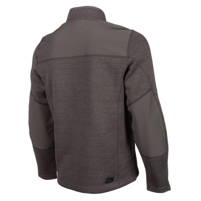 Klim Yukon Sweater Asphalt Hi Viz Back