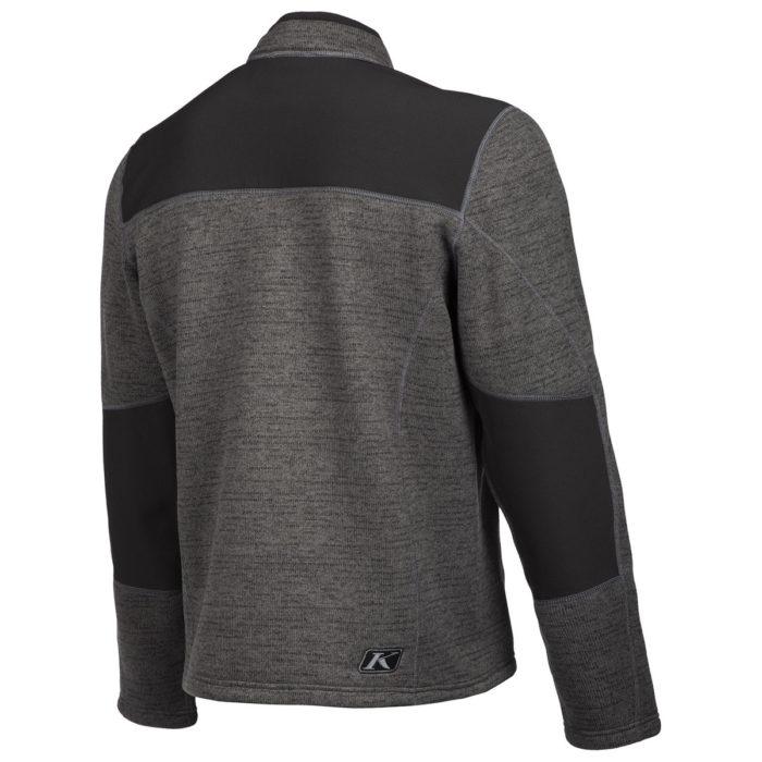 Yukon Black Sweater Back Side