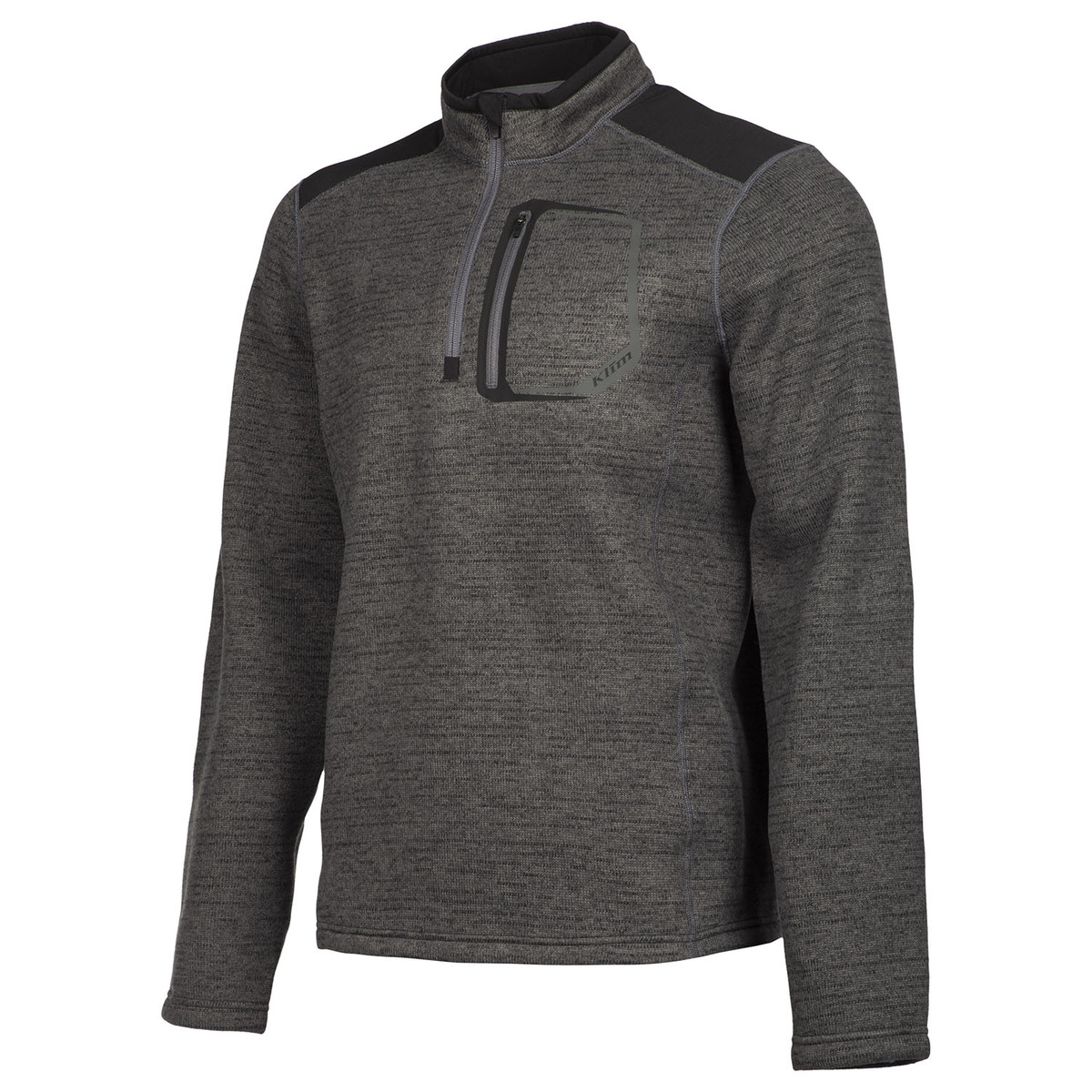 Yukon Black Sweater Front Side