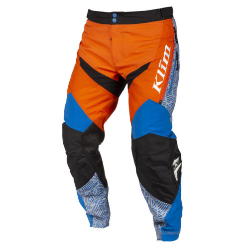 Klim Dakar In The Boot Pant Orange Blue