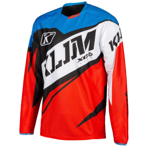 Klim XC Lite Jersey Red - Blue