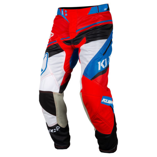 Klim XC Lite Red - Blue Pants