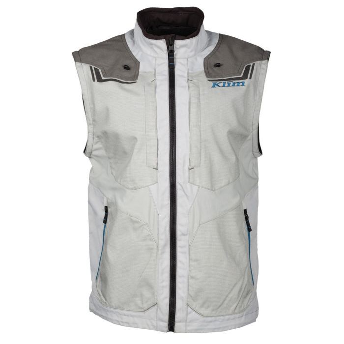 Dakar Jacket Grey Sleeves Removed