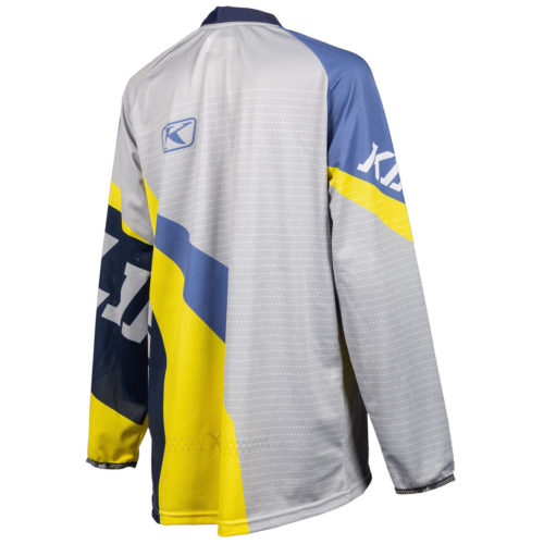 Klim XC Lite Jersey Back Yellow & Purple