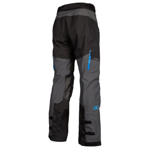 KLIM Traverse pants Black Kinetic Blue