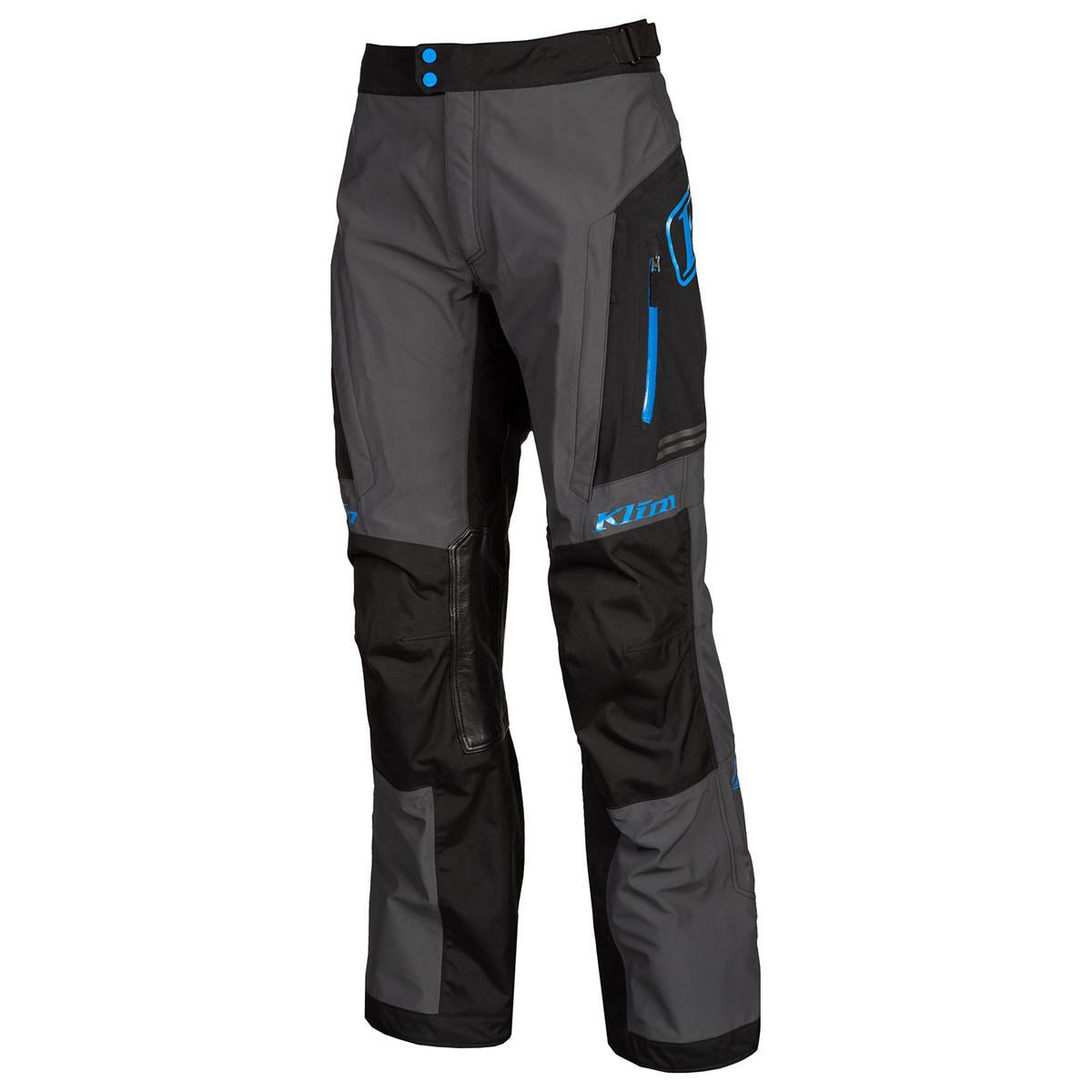 KLIM Traverse pants Black Kinetic Blue