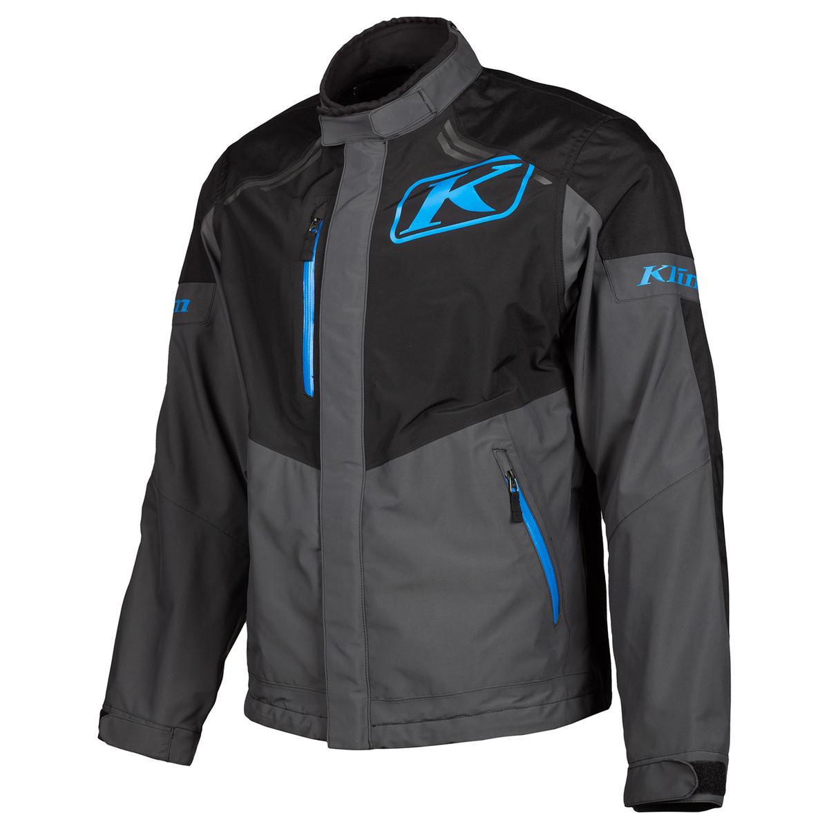Klim new Traverse Jacket Black Kinetic Blue