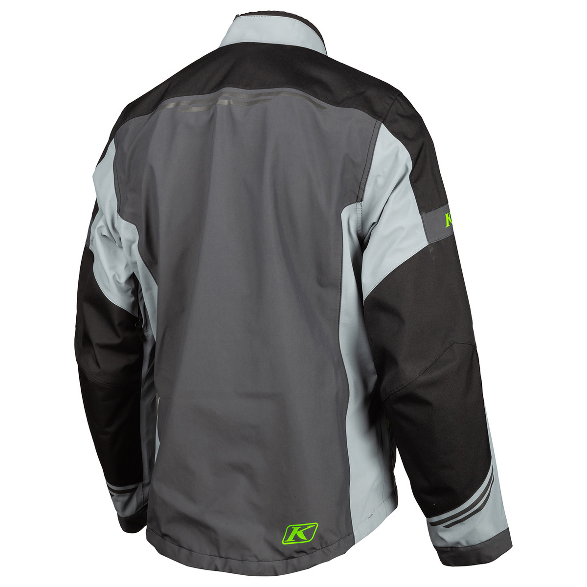 Klim Traverse Jacket Grey Elecktic Gekko Back