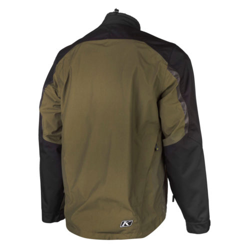 Traverse Jacket Green Back