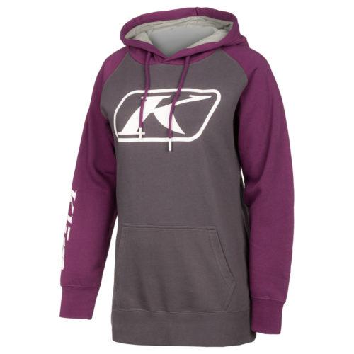 KLIM Kute Corp Ladies Hoody Castlerock Deep Purple
