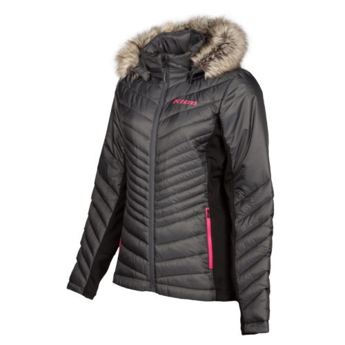KLIM Waverly Down Jacket Asphalt Knockout Pink