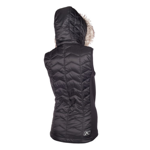 Arise Gilet Black Back