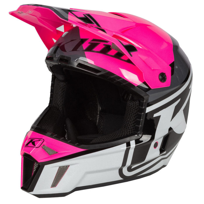 DISARRAY KNOCKOUT PINK F3 Helmet