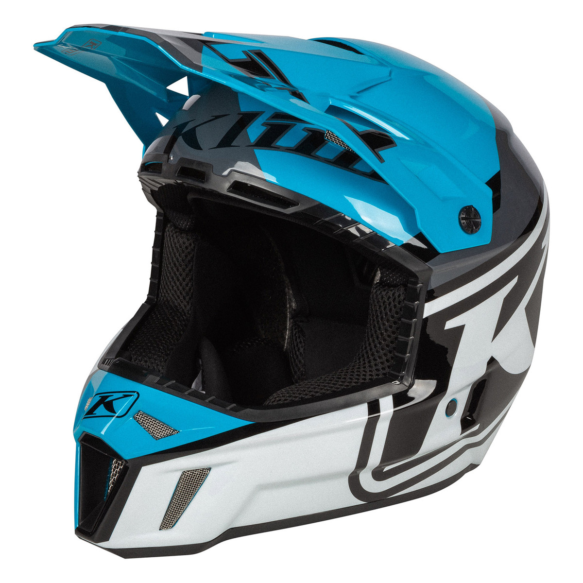 DISARRAY VIVID BLUE F3 Helmet