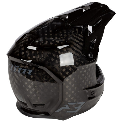 F3 Carbon Helmet Ghost Back