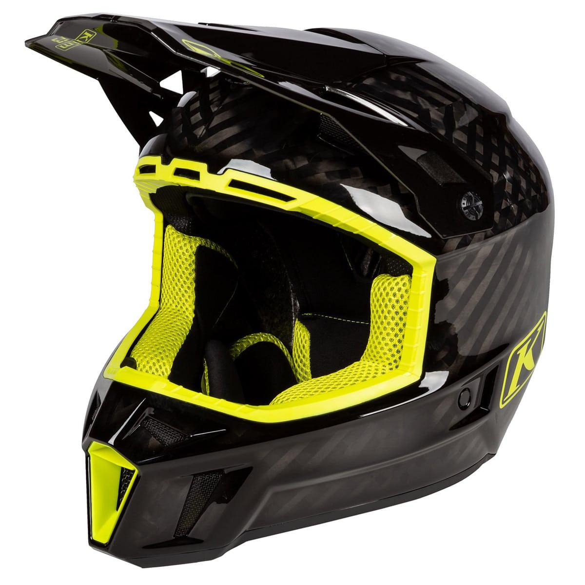 F3 Carbon Helmet Hi-Viz