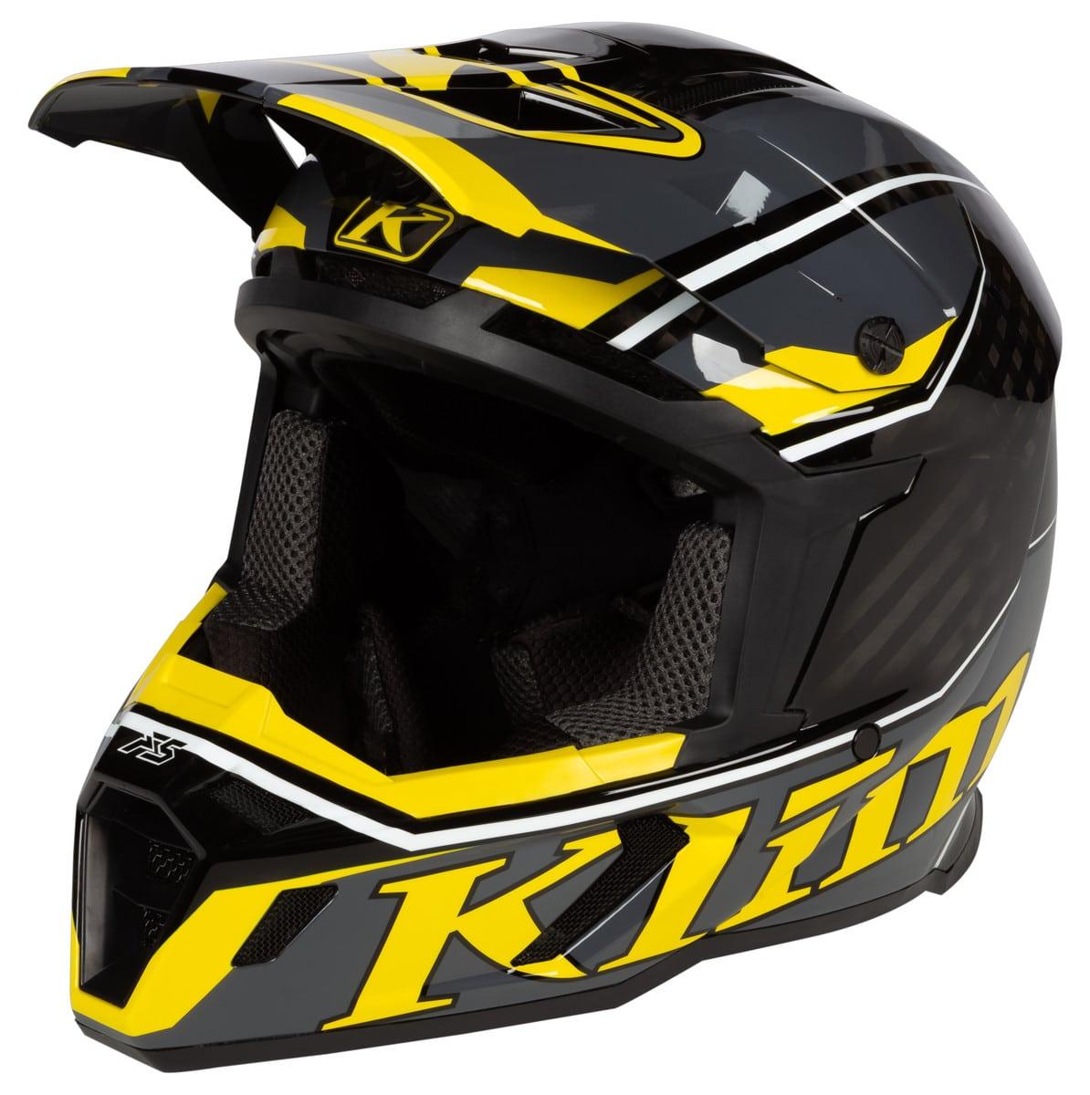 F5 Helmet Jet Klim Yellow