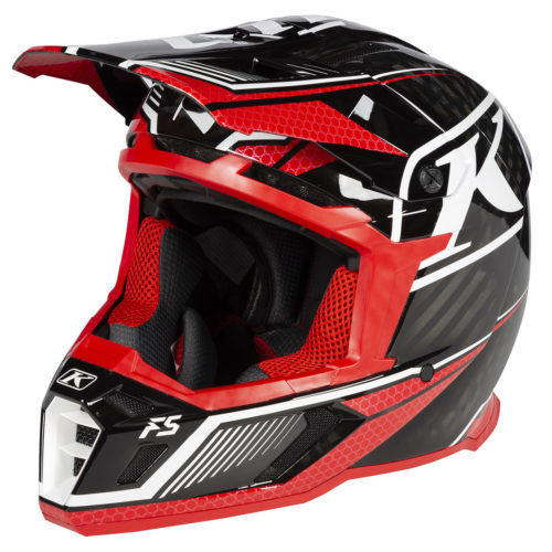 Klim F5 Carbon Koretek red