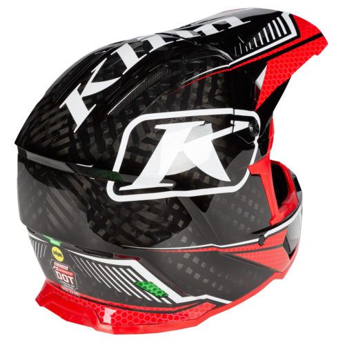 Klim F5 Carbon Koretek red Back