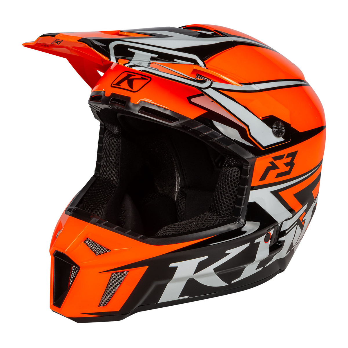 F3 STARK STRIKE ORANGE F3 Helmet