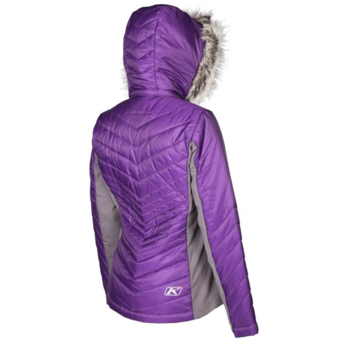 Waverly Jacket Purple Back