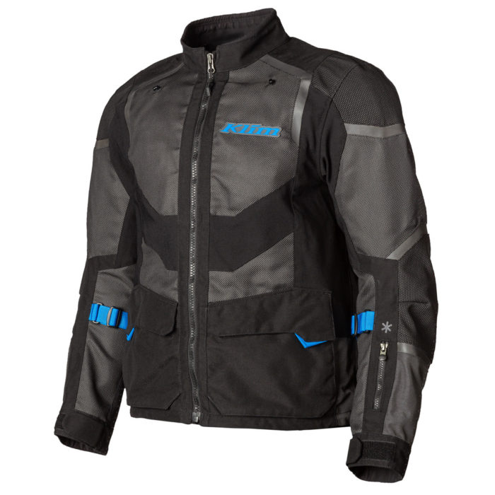 Baja S4 Jacket Black Kinetic Blue