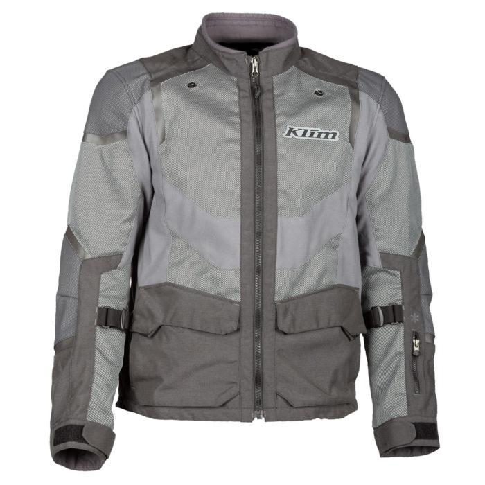 Baja S4 Jacket Monument Grey Front