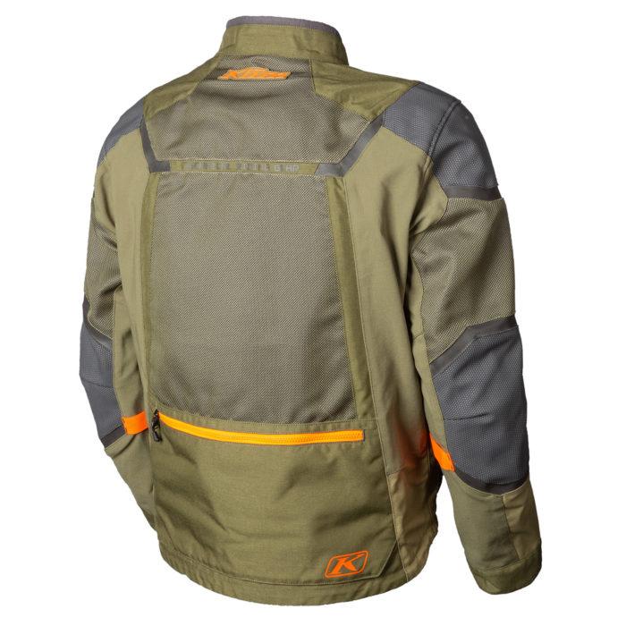 Baja S4 Jacket Sage Back