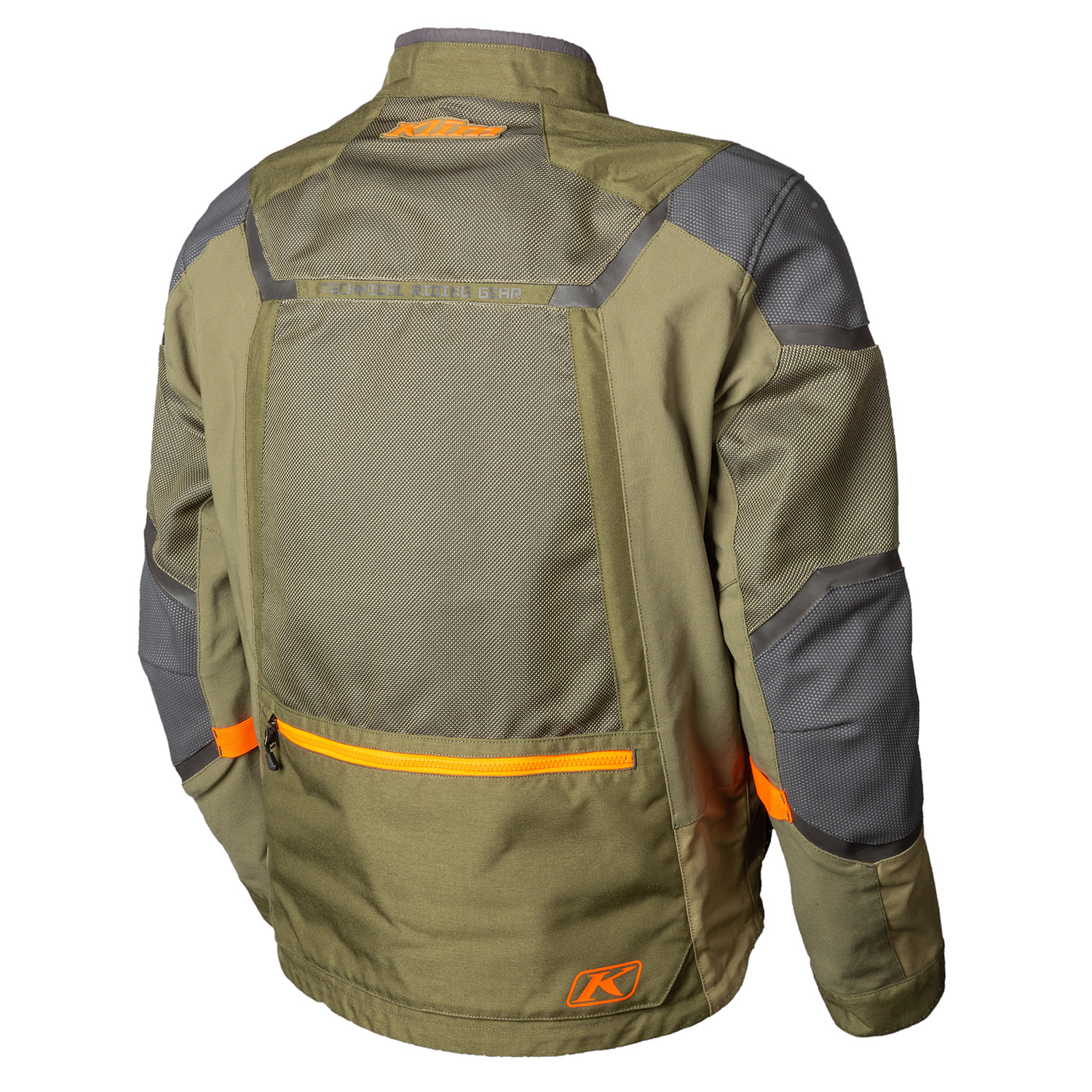 Baja S4 Jacket Sage Back