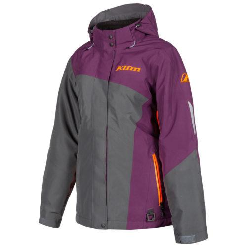 Allure Jacket Deep Purple