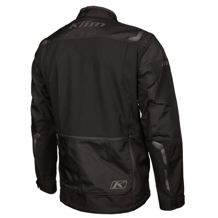 Dakar Jacket Black Back