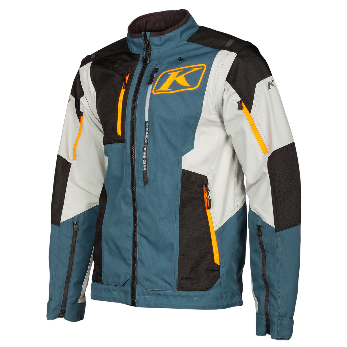 Dakar Jacket Striking Petrol