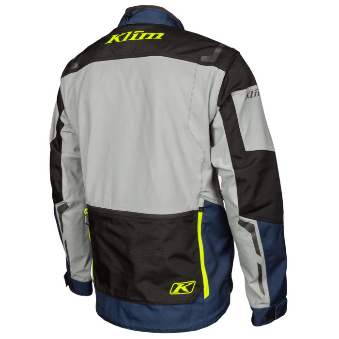 Dakar Jacket Vivid Blue Back