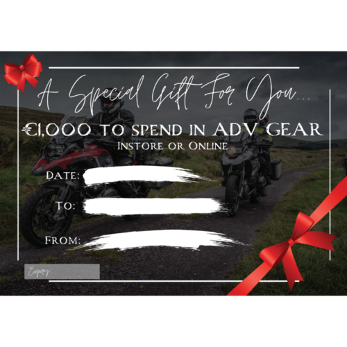 ADV GEAR Ultimate €1000 Voucher