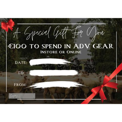 ADV GEAR Cool €100 Voucher
